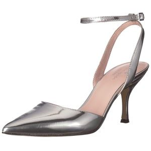 NEW Kate Space Simone Silver Pump Size 8.5